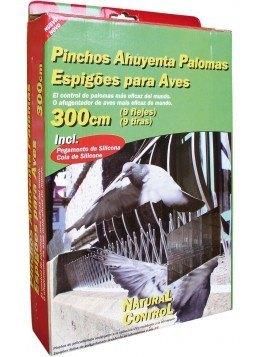 Pinchos Ahuyenta Palomas 300 cms (9 flejes)