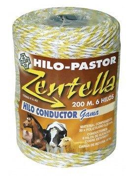 Hilo Conductor Blanco - Amarillo