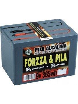 Pila Forzzza Alcalina 9 V. 365 W. hora