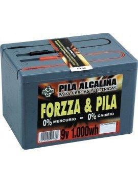 Pila Forzzza Alcalina 9 V. 1000 W. hora