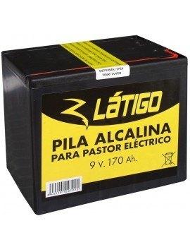 Pila Látigo Alcalina 9 V. 170 A/h.