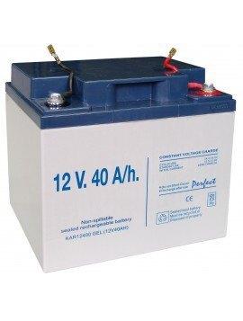 Batería - Gel Recargable 12 V. 40 A/h.