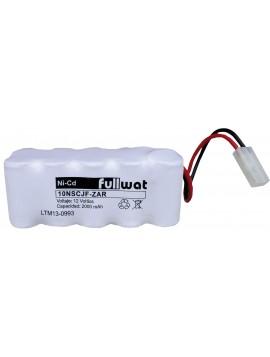 Batería Recargable 12 V. 2 A/h.