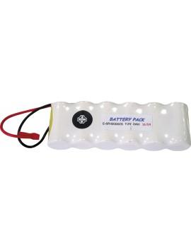 Batería Recargable 7,2 V. 1,8 A/h.